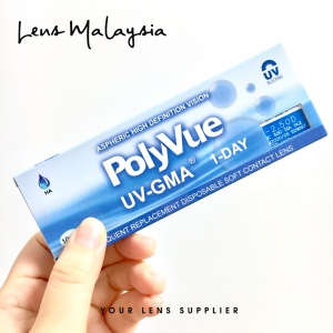 PolyVue UV-GMA 1-Day 1Box (10pcs)